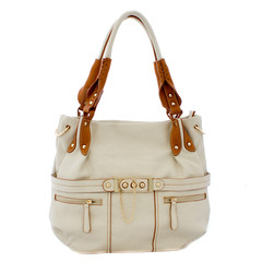 Beautiful white lady handbag