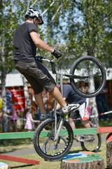 rider jumping
