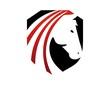 horse logo silhouette head symbol icon emblem