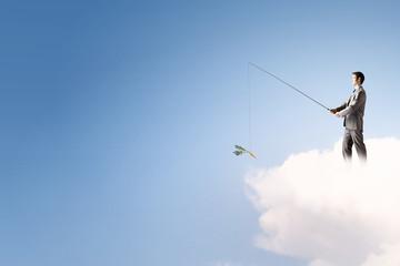 Fishing concept