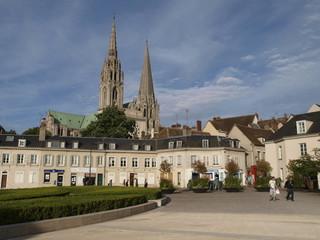 Catedral de Chartres en Fracia