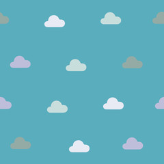 seamless background: cloud