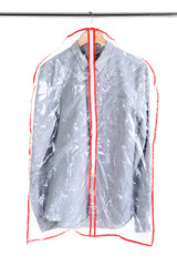 Office male shirt in case for storing