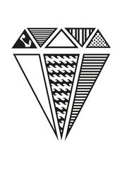 Diamanten Muster