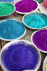 India - colored powder