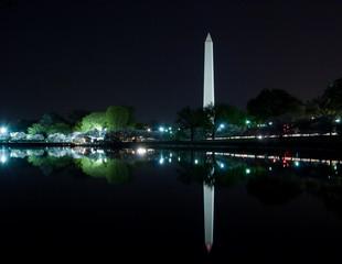 Washington, DC - Washington Monument reflecting in Tidal Basin