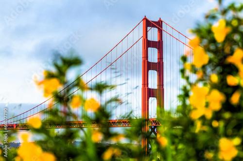 Fotobehang San Francisco Golden Gate Bridge in San Francisco