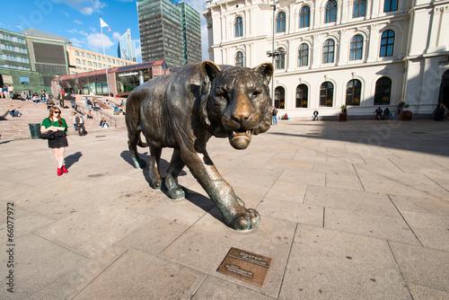Oslo tiger horizontal