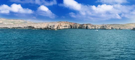Comino Island Shore horizontal