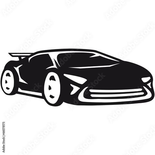 Leinwanddruck Bild Rennauto Sportwagen Rennwagen Cool