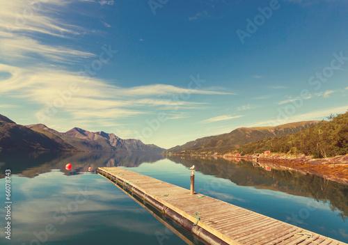 Lake in Norway - 66078743