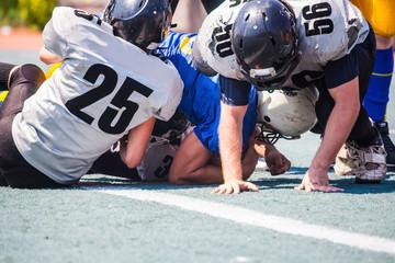 the opposing team tackler