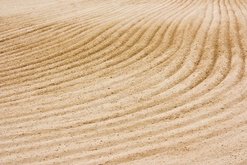 sand of reining arena, background