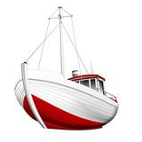 Fischkutter freigestellt - 66080958