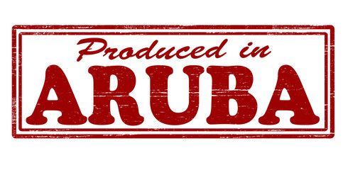 Produced in Aruba