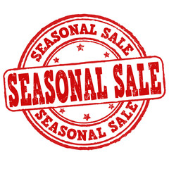 Seasonal sale stamp