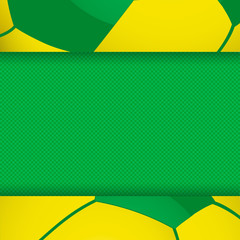 football brazil panel background