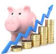 Sparschwein Wachstum Rendite
