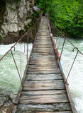 Suspension walking bridge - 66084726