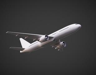 render of  airplane