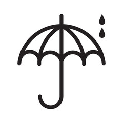UmbrellaWithRaindrops