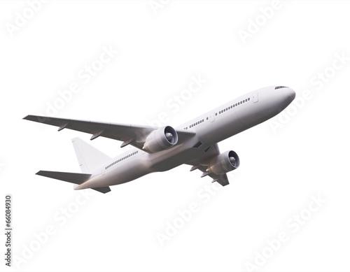 Deurstickers Vliegtuig big airplane