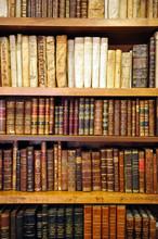 Bibliothek, Bibliothek, alte Bücher