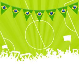 Fans Sportplatz Brasilien