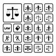 scales justice icon