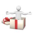 Manikin Gift Surprise