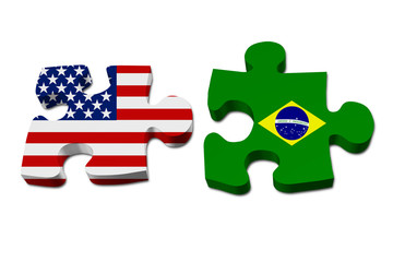 US working with Brazil