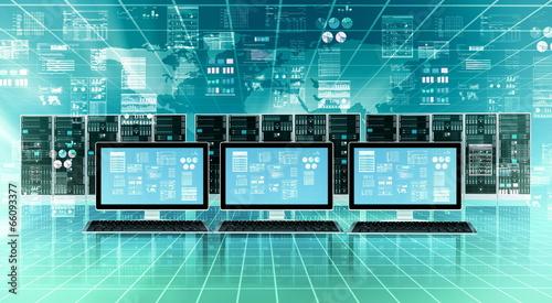Internet Server concept - 66093377