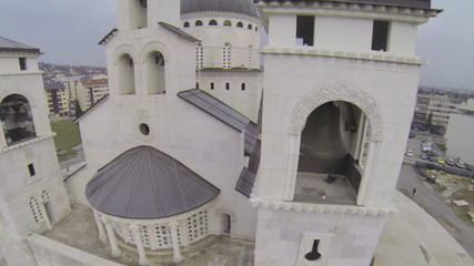 Cathrdral of the Resurrection of Christ in Podgorica.