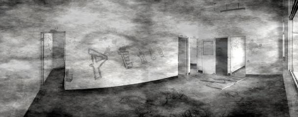 Spooky Abandoned House
