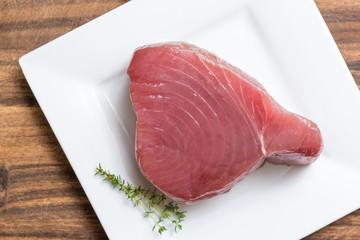 Filet tuna raw