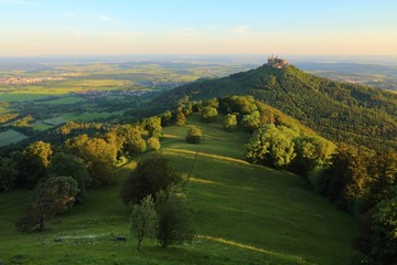Hohenzollern Castle (Germany) sunrise