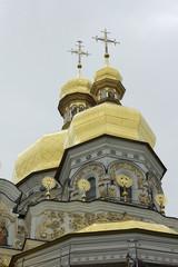 Киево-Печерская Лавра. Купола Успенского собора