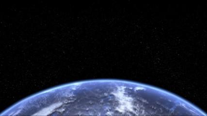 Rotating Earth Lower Third Loop