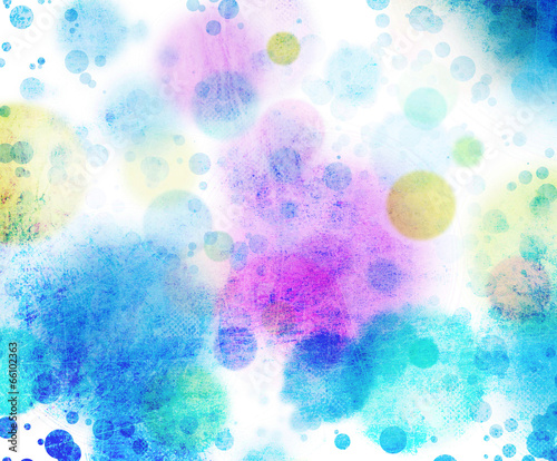 canvas print picture kreise farben textur