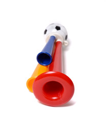 Football soccer triple fan trumpet
