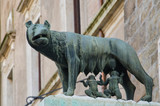 Sculpture of Romulus and Remus