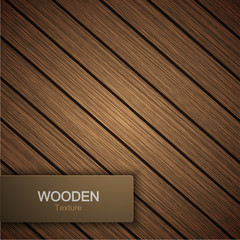 Vector modern wooden background.