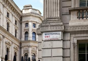 London, Downing streel, Police control
