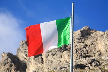 bandiera passo di montagna