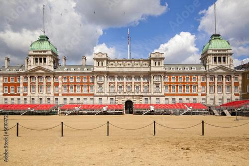 Poster London, horse guard parade