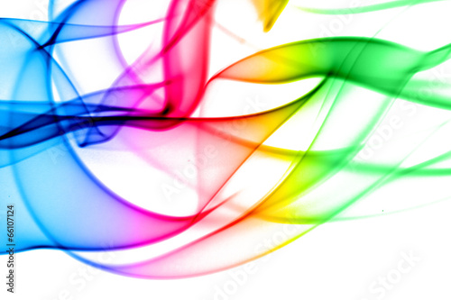 abstract smoke colored