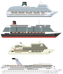passenger ships set