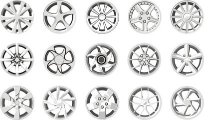 car wheel discs