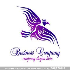logo, happiness,  success, birds, illustrations, phoenix