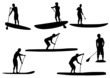 SUP Silhouettes #3